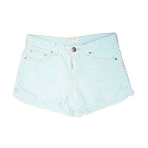 Classic Free People Traditional Denim Shorts